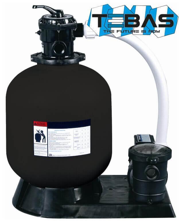 Tebas Saturn Standard 485 фильтрационная установка для бассейна 10 м3 в час