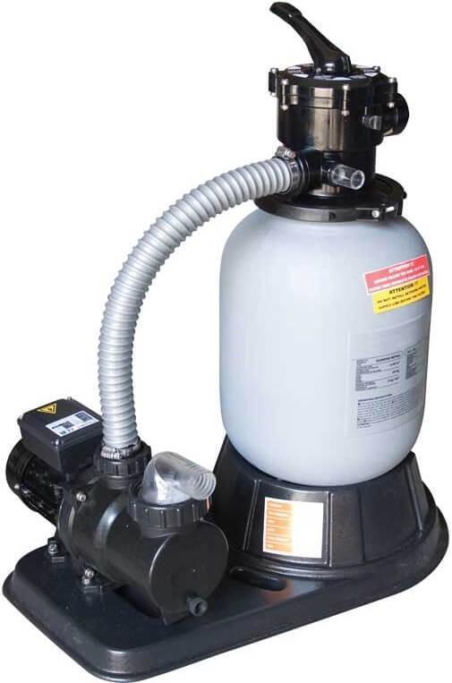 Gemaş IKARUS 450 8 м3/час 0,37 кВт фильтрационная установка для бассейнов