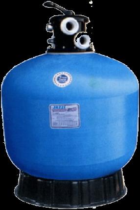 JAZZI T550 12,5 м3/год піщаний фільтр для басейну корпус зі скловолокна, фото 2