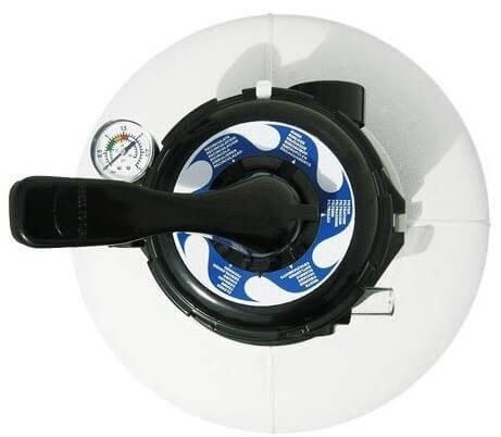 Astral Skypool D500 мм, 9 м3/ч песочный фильтр с верхним подключением, фото 2
