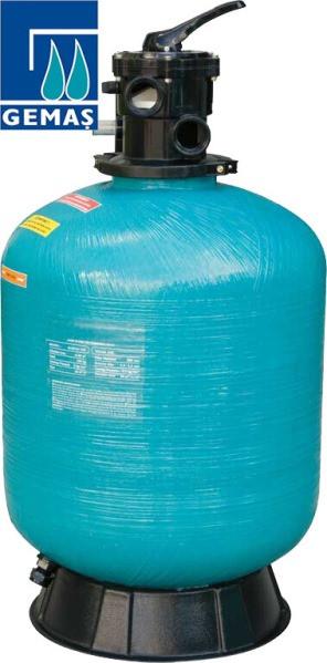Gemaş Turbidron 500-CL 10 м3/час песчаный фильтр для бассейна стеклопластиковый корпус