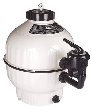 Astral Cantabric D500 мм, 9 м3/ч песочный фильтр с боковым подключением, фото 2
