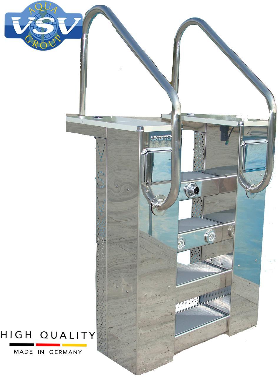 VSV Unistep 44 м3/час навесной фильтр для бассейна