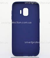 Бампер силиконовый SMTT Soft Touch для Samsung J2 Core синий