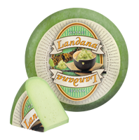 Сыр c васаби Landana Wasabi50%