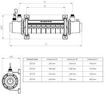 Теплообменник Elecro SST 75 кВт Titan, фото 2