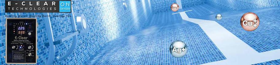 E-Clear MKX/CFSI-75 система дезинфекции бассейна на основе активного кислорода и ионизации до 75 м3, фото 2