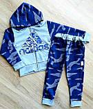 Детский спортивный костюм кофта и штаны Adidas Mickey Mouse камуфляж, фото 2