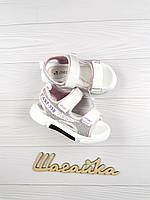 Босоножки сандалии 28-31 (18-20см) детские на девочку, фото 1