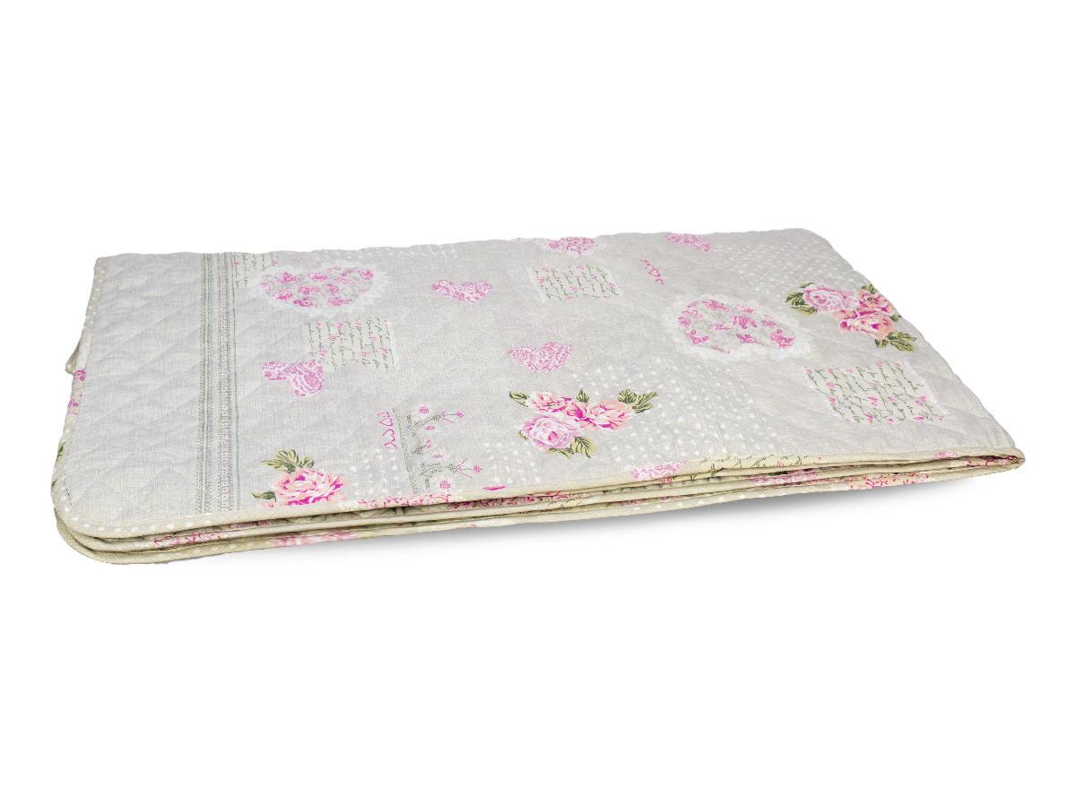 Одеяло-Покрывало полиэстер (П-787) 172х205 цветной