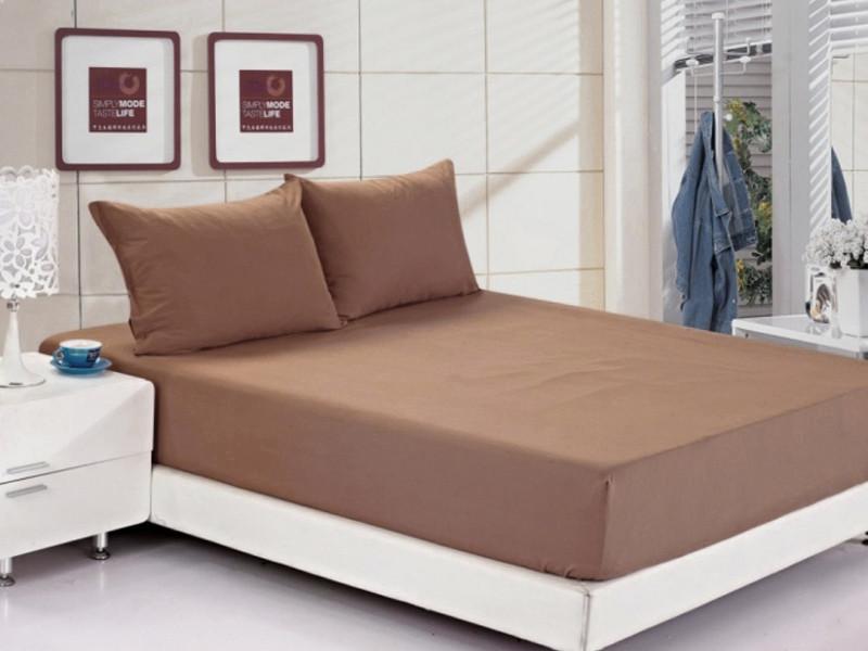 Постельное белье Ранфорс Летний РЛ311 160х200+25 коричневый