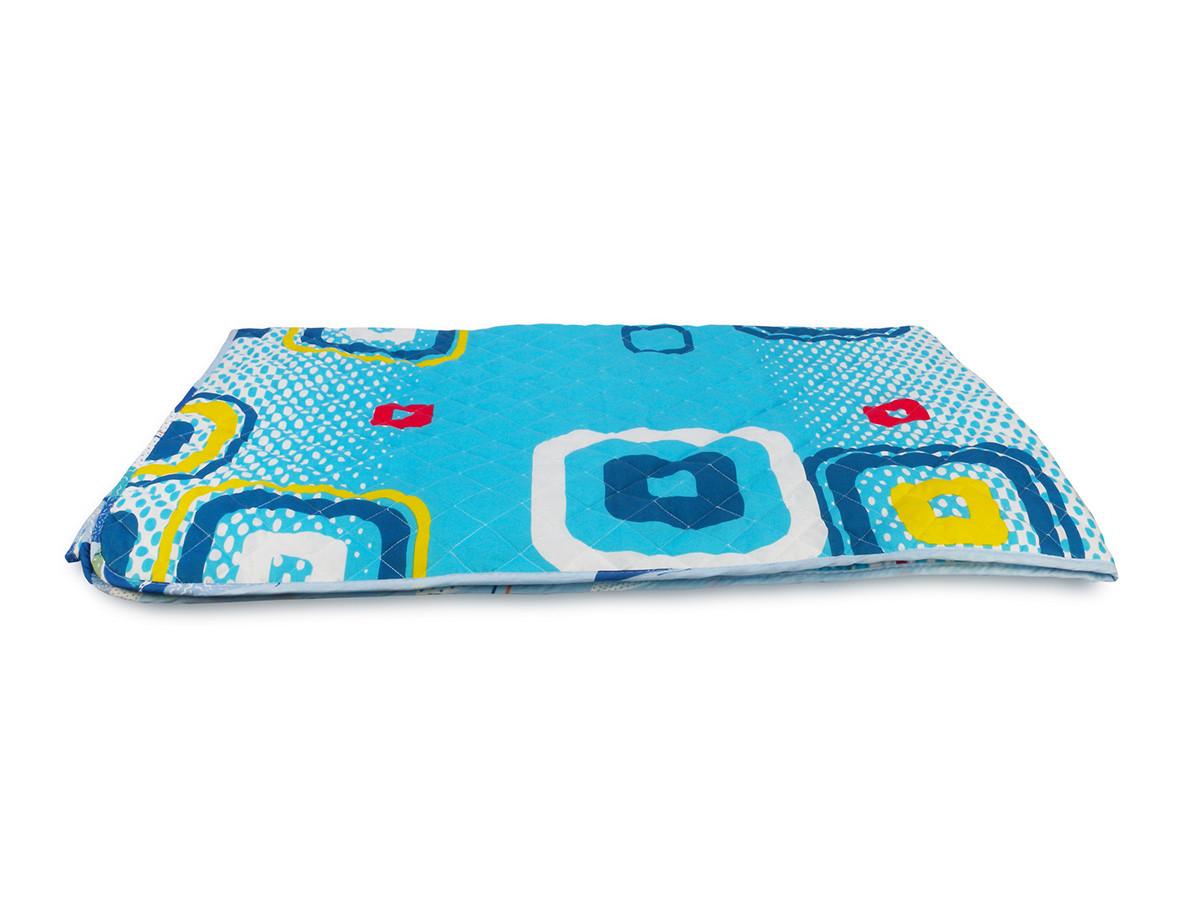 Одеяло-Покрывало полиэстер {П-797} 172х205 цветной
