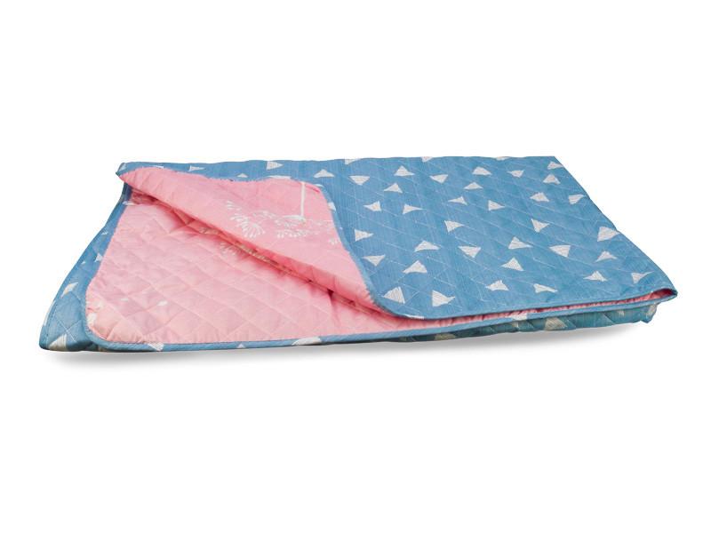 Одеяло-Покрывало полиэстер {П-810/811} 172х205 цветной