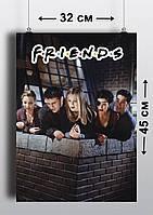 Плакат А3, Друзья 5