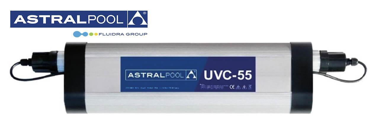Astral Pool UVC-55 Вт ультрафиолет для бассейна