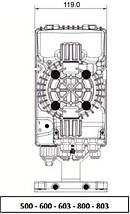 Seko TPG 603 8 л/ч насос дозатор для бассейна, фото 2