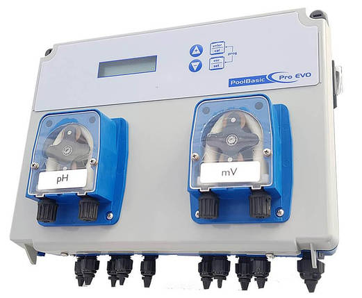 Seko Pool Basic Evo pH/mV 1,5 л/ч SPMBASPA0044 автоматическая станция дозирования, фото 2
