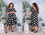 Стильное платье   (размеры 48-62) 0242-02, фото 2