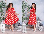 Стильное платье   (размеры 48-62) 0242-02, фото 3
