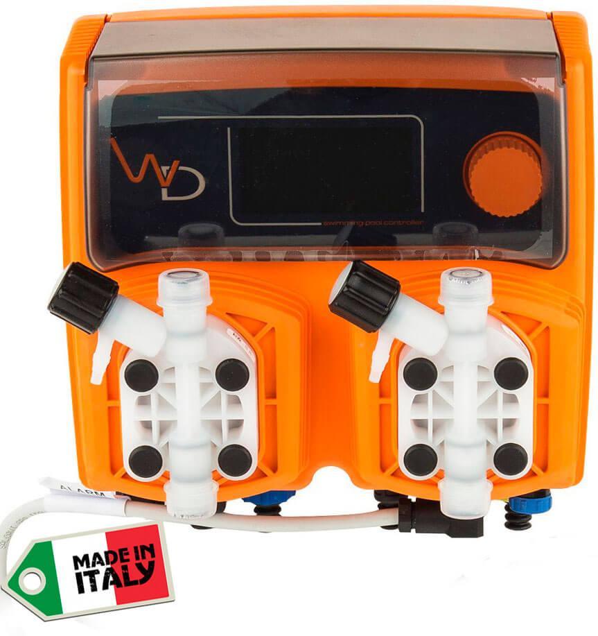 Emec WDPHCL0310 pH и Cl 10 л/ч автоматическая станция дозирования