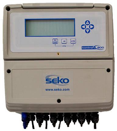 Seko Kontrol PС 800 (Ph/Cl) автоматическая станция дозирования без насосов, фото 2