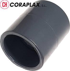 Муфта ПВХ клеевая соединительная д.400 Coraplax