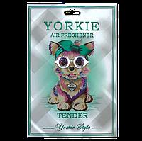 Ароматизатор в авто/гардероб парфюмированный Yorkie Style TENDER Chanel