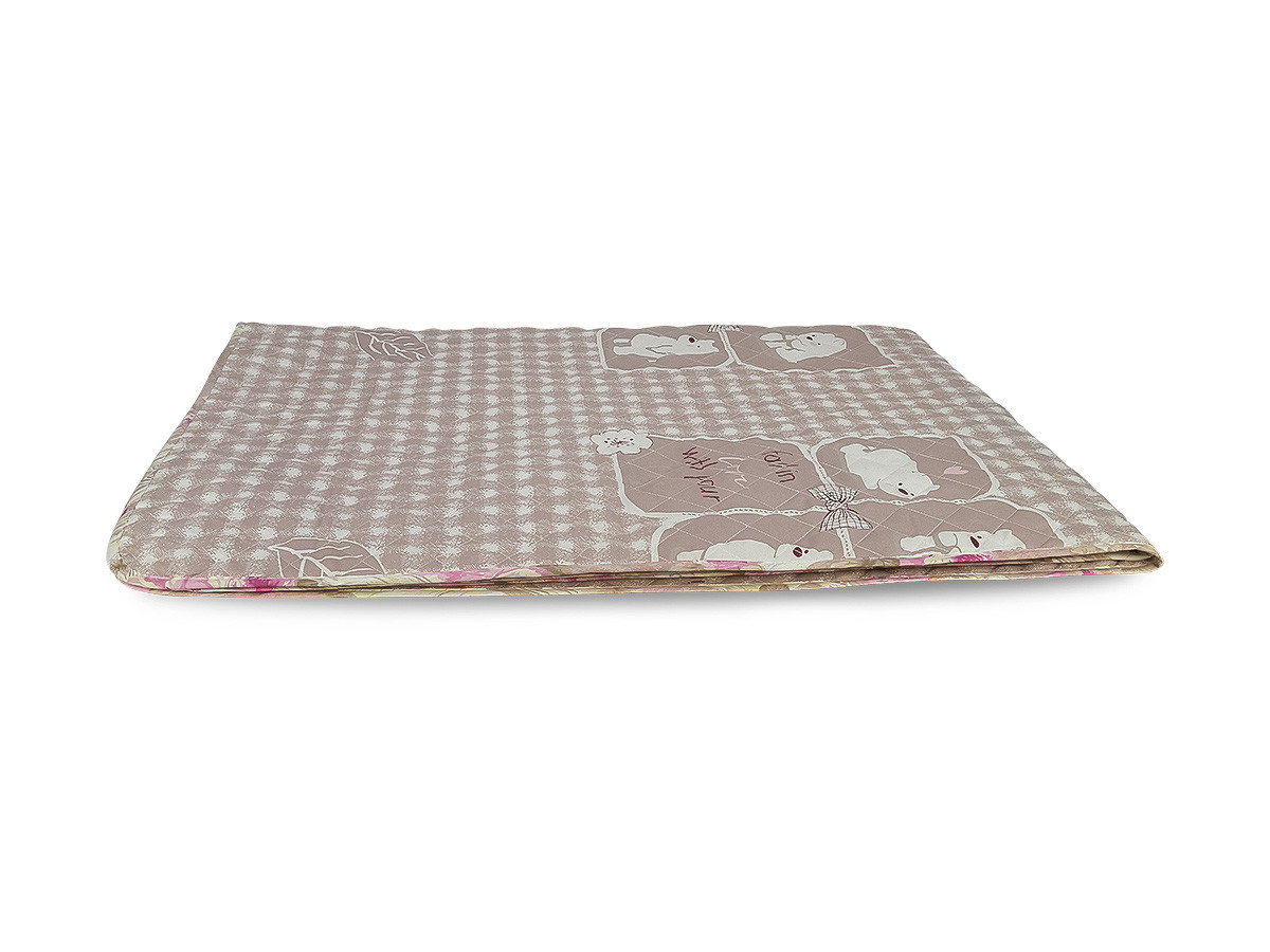 Одеяло-Покрывало полиэстер (П-817) 140х205 цветной