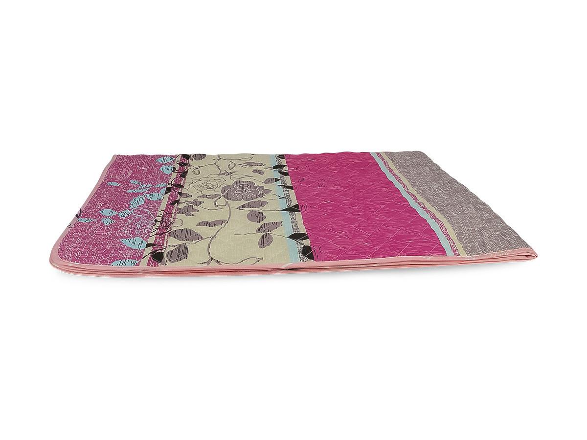 Одеяло-Покрывало полиэстер {П-822} 140х205 цветной