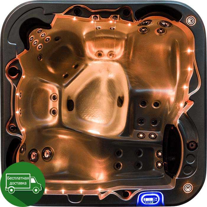 Vortex Spas Mercury 200*200см гідромасажна ванна