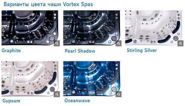 Vortex Spas Mercury 200*200см гідромасажна ванна, фото 3