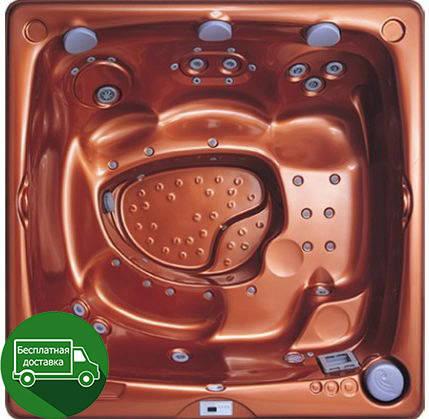 USSPA Silvester 229*229см гидромассажная СПА ванна, фото 2