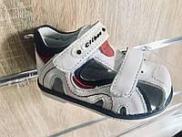 Детские сандалии Clibee для мальчика ,размеры 21, 24, 25(белый-синий), фото 1