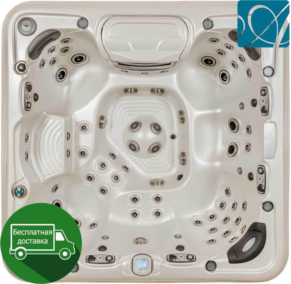 Artesian Spas Platinum Piper Glen 231*231см гидромассажная ванна