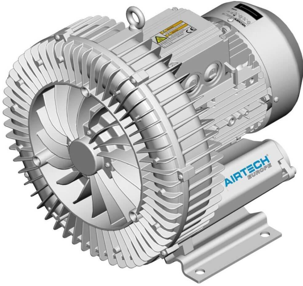 Airtech ASC0080 0,37 кВт 80 м3/ч компрессор/бловер для аэромассажа в бассейне
