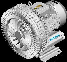 Airtech ASC0080 0,37 кВт 80 м3/ч компрессор/бловер для аэромассажа в бассейне, фото 3