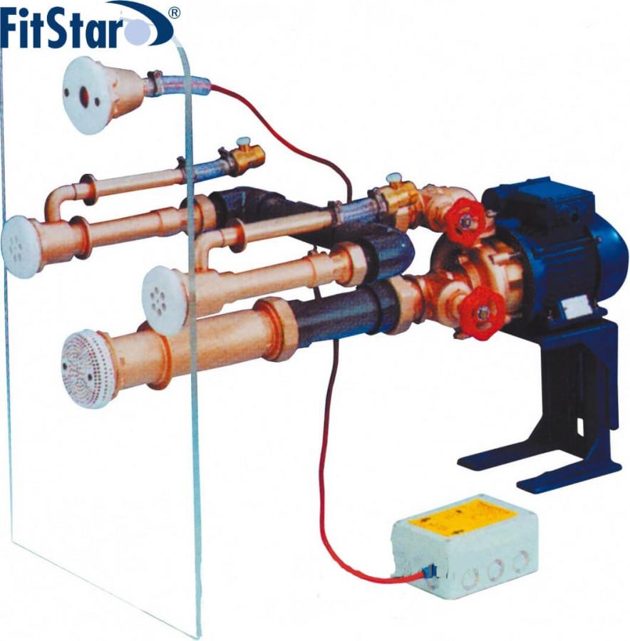 Fitstar Standart комплект гідромасажною стінки на 2 форсунки