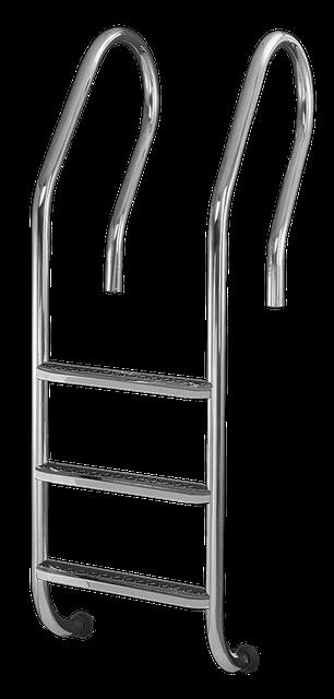 AquaDyn De lux Mixta сходи для басейну 4 ступені
