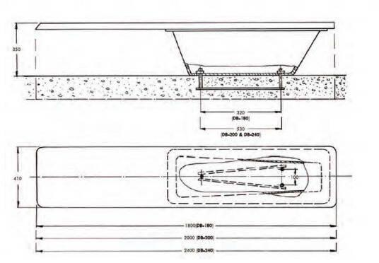 Прыжковая доска (трамплин) для бассейна Acqua Source 2 м, фото 2