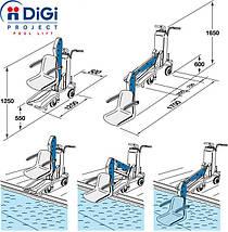 Digi Project Bluone ліфт-підйомник для людей з обмеженими здібностями, фото 2