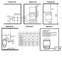 Электрокаменка Amazon AM90MI 9 кВт с выносным пультом CON4 (нерж. сталь), фото 3