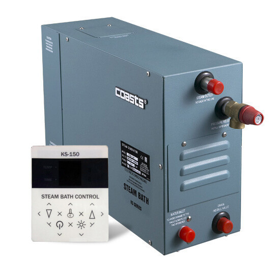 Парогенератор Coasts KSA-90 9 кВт 380В з виносним пультом KS-150