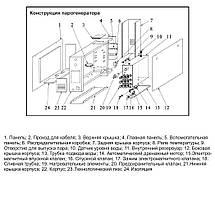 Парогенератор Coasts KSA-90 9 кВт 380В з виносним пультом KS-150, фото 3