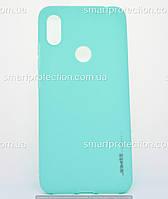 Бампер силиконовый для Xiaomi S2 бирюзовый SMTT Soft Touch