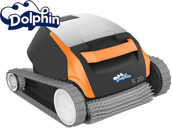 Dolphin E20 робот пылесос для бассейна , фото 2