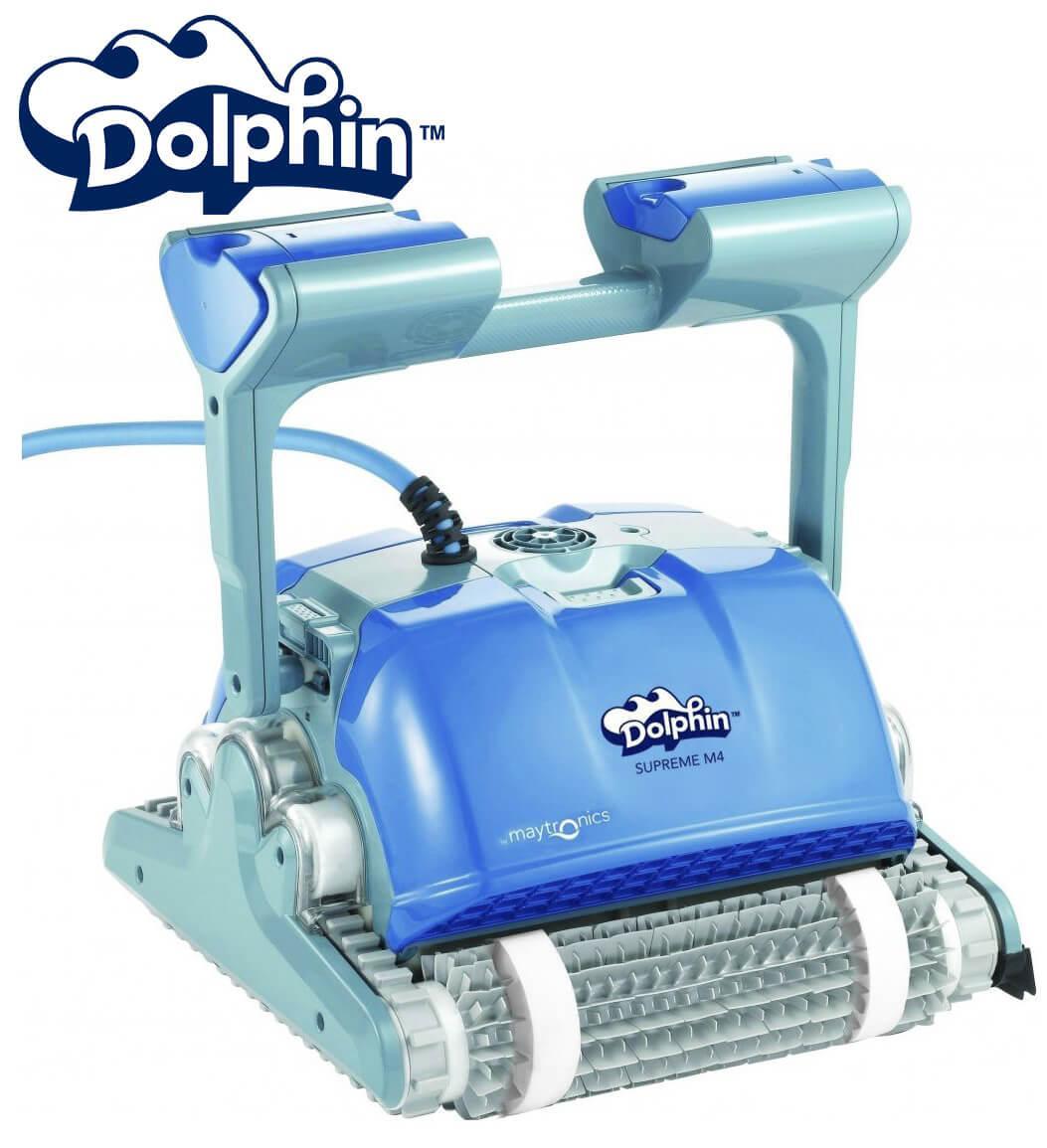 Dolphin supreme M400 робот пылесос для бассейна