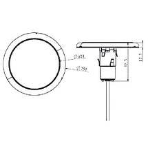 Прожектор світлодіодний Aquaviva LED227D 252LED (18 Вт) RGB, тип кріплення засувки, фото 3