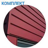 """Металлосайдинг   фасадные панели   """"Комплект""""   Термастил   RAL 6005 • зеленый глянец   0,5 мм., фото 8"""