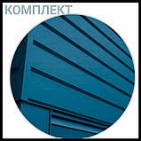 """Металлосайдинг   фасадные панели   """"Комплект""""   Термастил   RAL 6005 • зеленый глянец   0,5 мм., фото 5"""