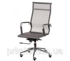 Кресло Solano Mesh (Оскар Лайт) chrome grey